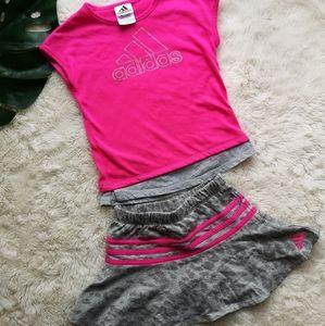 Girls adidas set